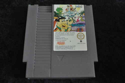The flintstones The Rescue of Dino & Hoppy Nintendo Nes
