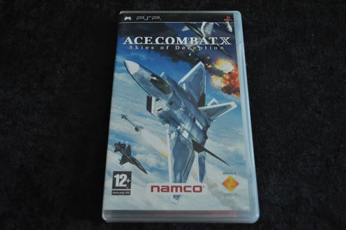 PSP Game Ace Combat X Skies Of Deception
