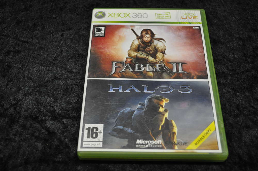 XBOX 360 Bundle Pack Fable 2 - Halo 3