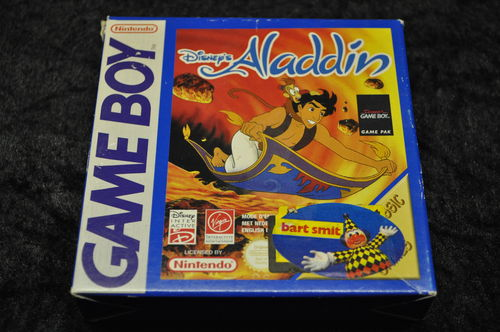 Gameboy classic Disney's Aladdin Boxed