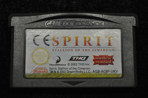 Gameboy Advance Spirit Stallion Of The Cimarron