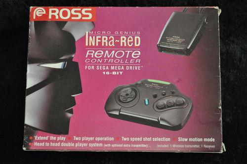 Sega Mega Drive Ross Micro Genius RCG 200 Wireless Controller Boxed