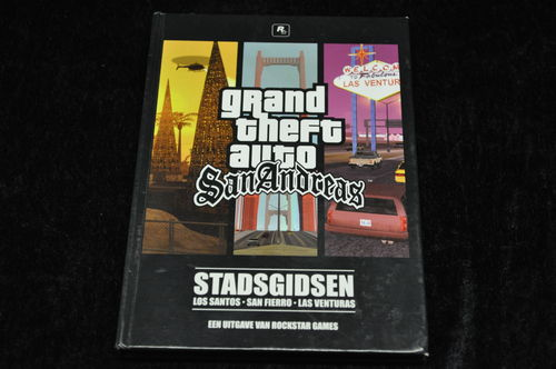 Grand Theft Auto San Andreas Stadsgidsen