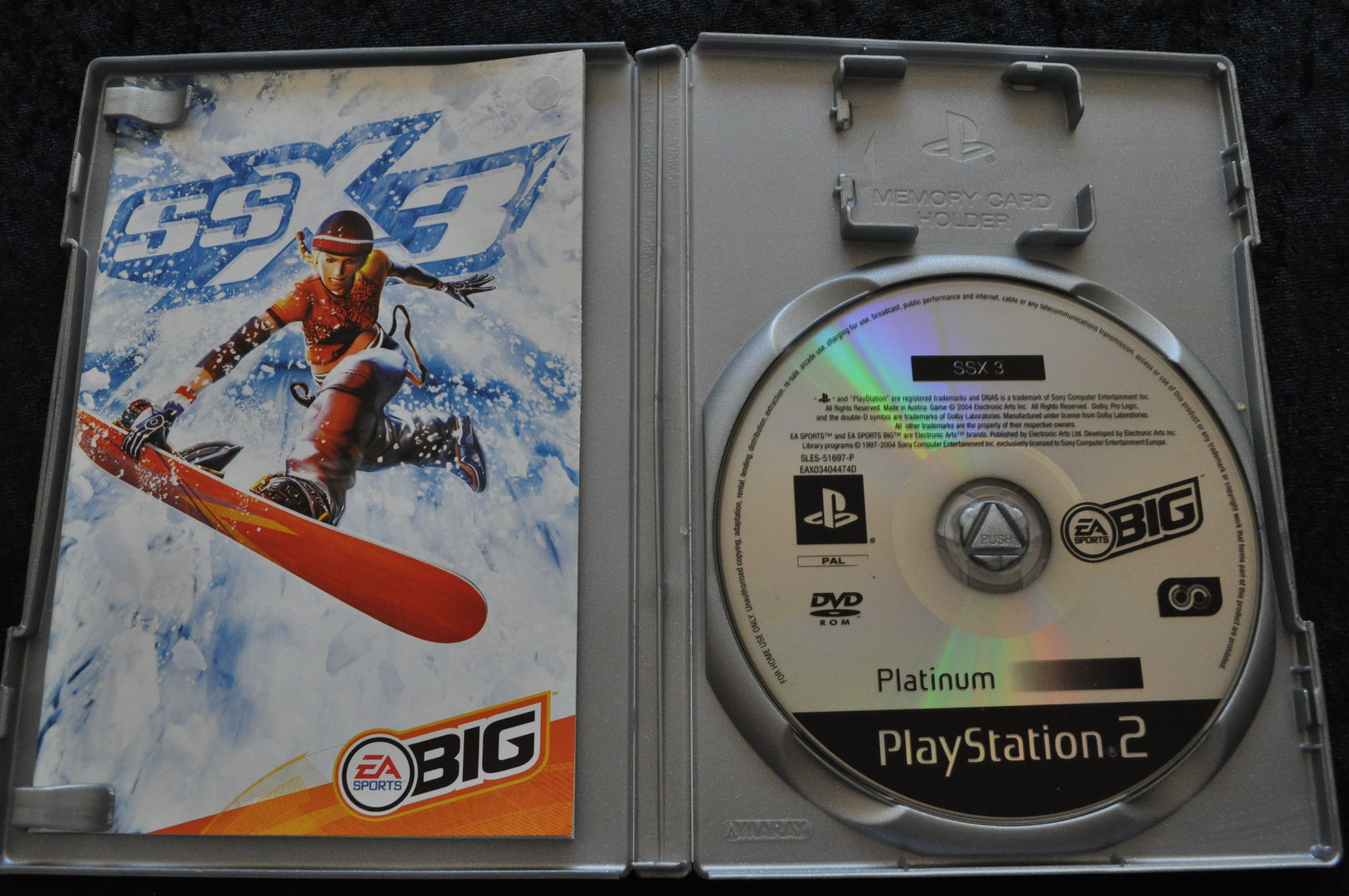 SSX 3 Platinum Playstation 2 PS2 - Retrogameking com | Retro,Games