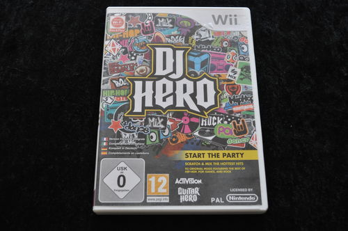 Game DJ Hero Nintendo Wii Game