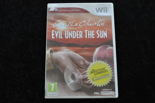Agatha Christie Evil Under The Sun NIntendo Wii