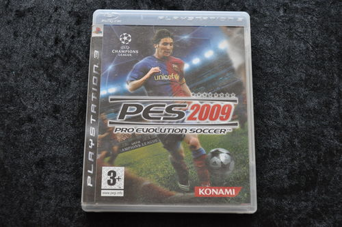 Playstation 3 PES 2009 Pro evolution Soccer