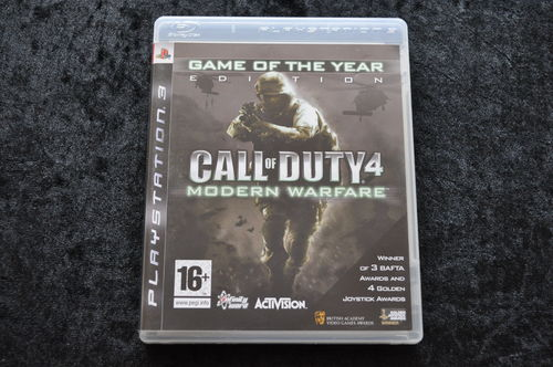 Call Of Duty 4 Modern Warfare Playstation 3 PS3
