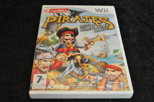 Nintendo wii Game Pirates:Hunt For Blackbeard's Booty