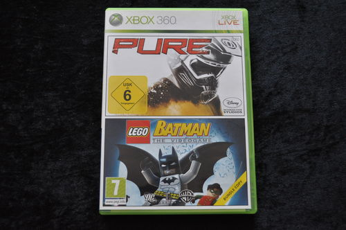 Pure - Lego Batman The Video Game 2 in 1 bundel Xbox 360