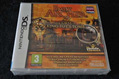 Nintendo DS Emily Archer The Curse Of King Tut's Tomb (Sealed)