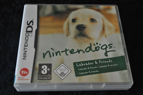 Nintendo DS Nintendogs Labrador & Friends ( Geen Manual )