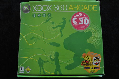 XBOX 360 Arcade Boxed Pac-Man Edition 60GB