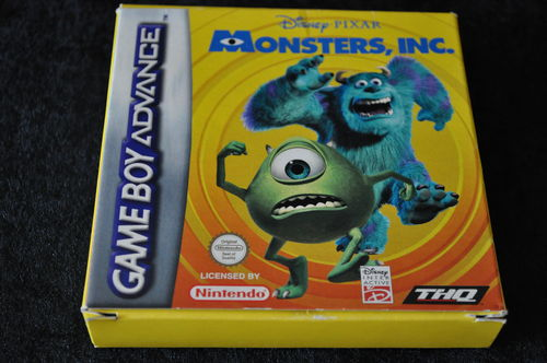 Gameboy Advance Disney-Pixar Monsters,Inc. Boxed