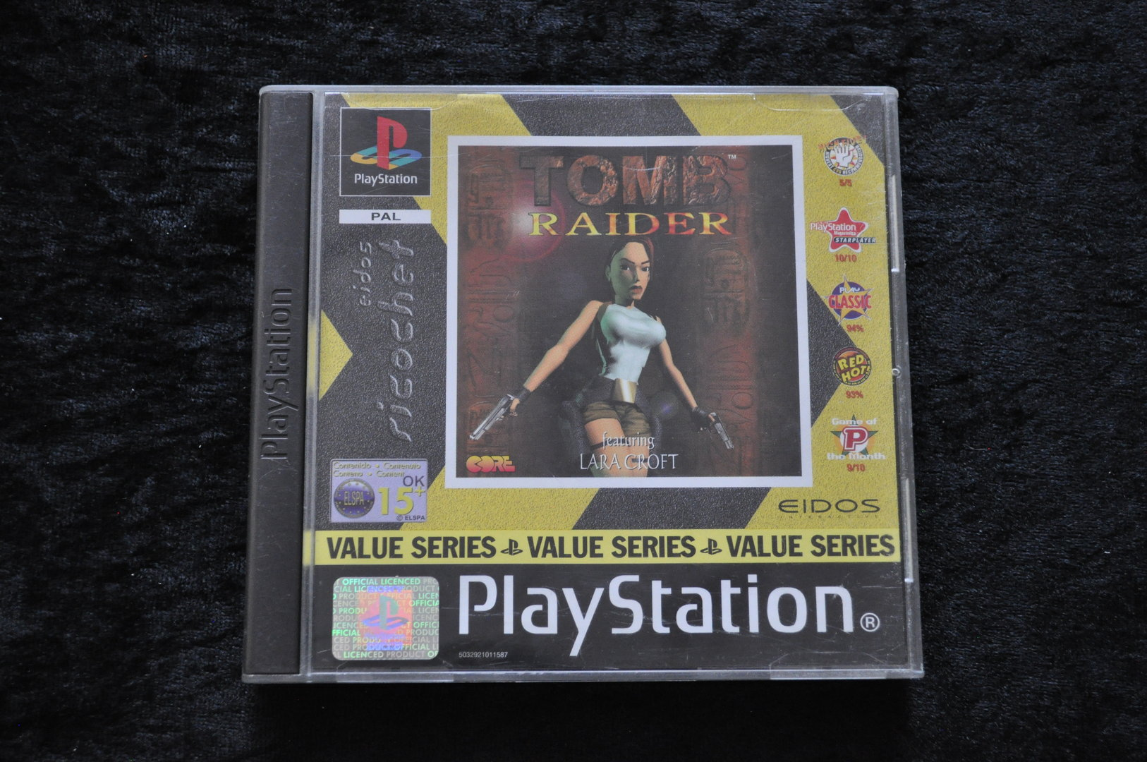 Tomb Raider Playstation 1 Ps1 Value Series Retrogameking Com