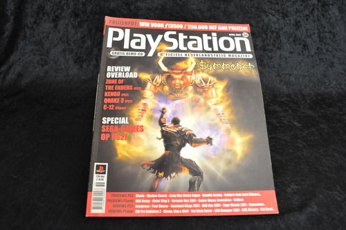 Playstation Magazine April 2001 Nr 36