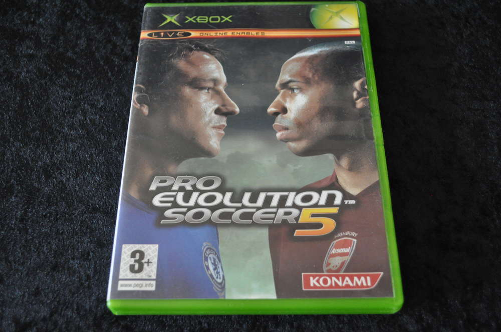 XBOX Pro Evolution soccer 5
