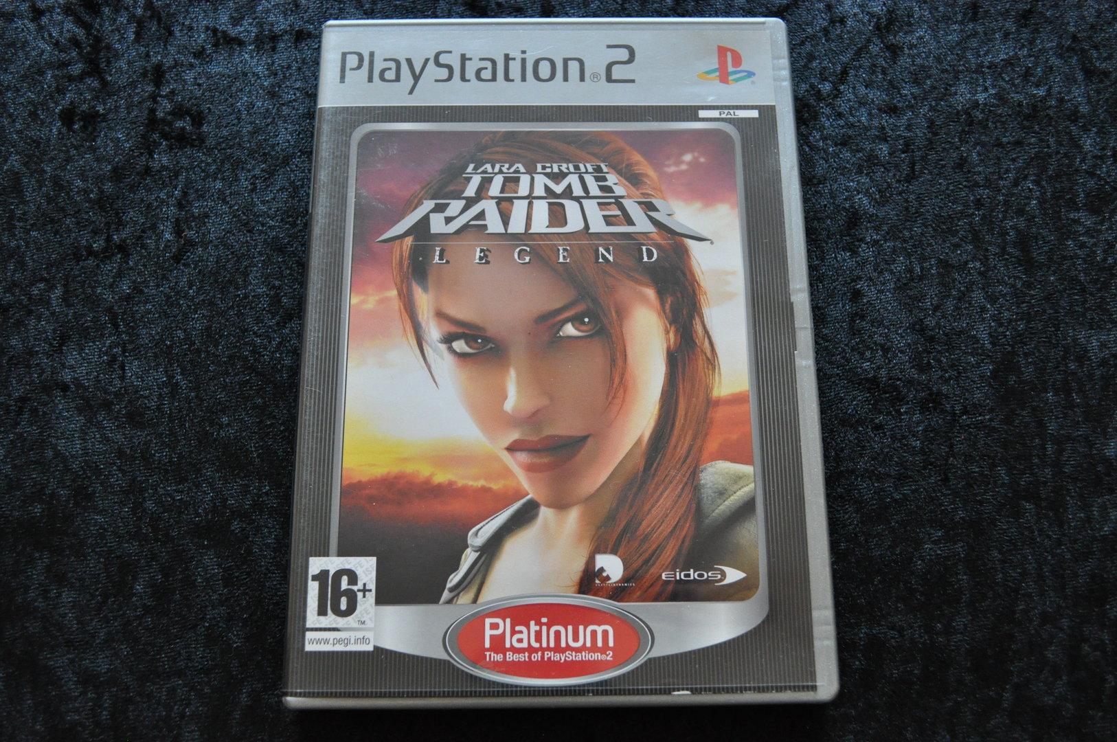 Lara Croft Tomb Raider Legend Platinum Playstation 2 Ps2