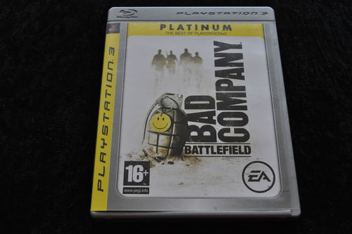 Battlefield Bad Company Playstation 3 PS3 Platinum