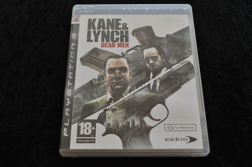 Kane & Lynch: ( Geen Manual )Playstation 3