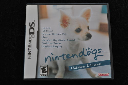 Nintendogs Chihuahua & Friends DS Game