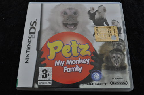 Petz My Monkey Family Nintendo DS Game