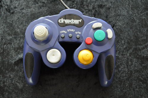 GameCube Controller Draxter Third party Paars