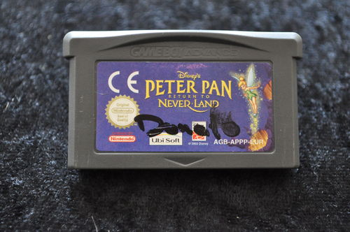Disney's Peter Pan The Legend Of Neverland GameBoy Advance Game