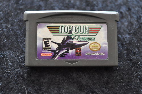 Top Gun Firestorm GameBoy Advance Game