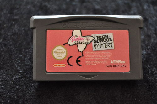 The Barbie Diaries High School Mystery GameBoy Advance Game