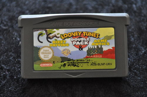 Looney Tunes DoublePack Dizzy Driving-Acme Antics GameBoy Advance Game