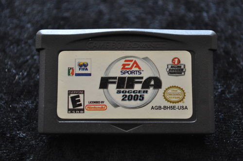 Fifa Soccer 2005 Gameboy Advance Game