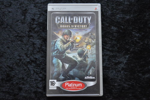 Call Of Duty Roads To Victory  Sony PSP Platinum