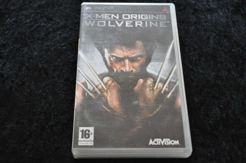 x men origins wolverine no manual psp game retrogameking com rh retrogameking com psp mp5 game player manual Sony PSP 2001 Manual