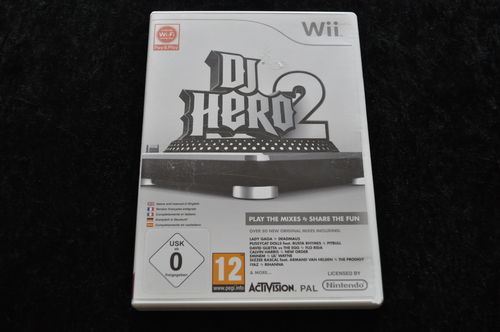 DJ Hero 2 Nintendo Wii Game