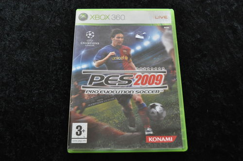 Pro evolution soccer 2009 XBOX 360 Game