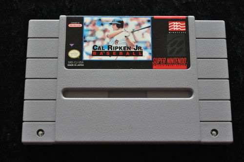 Cal Ripken Jr Basketball NTSC SNES Game