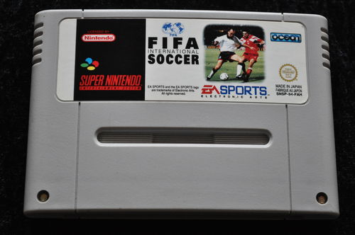Fifa international soccer Nintendo SNES