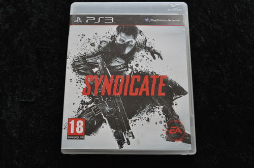 Syndicate Geen Manual Playstation 3