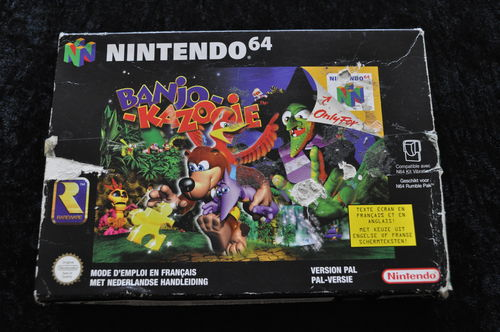 Banjo-Kazooie Boxed Nintendo 64 Game