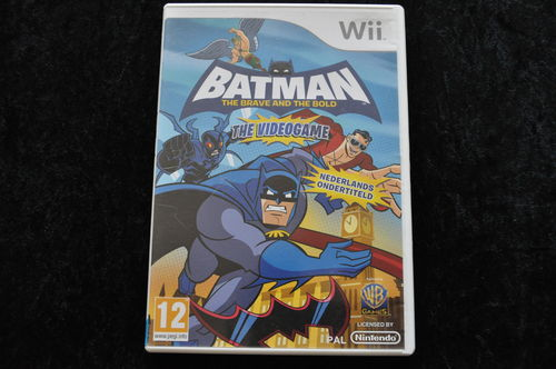 Batman The Brave And The Bold The Video Game Geen Manual Nintendo WII