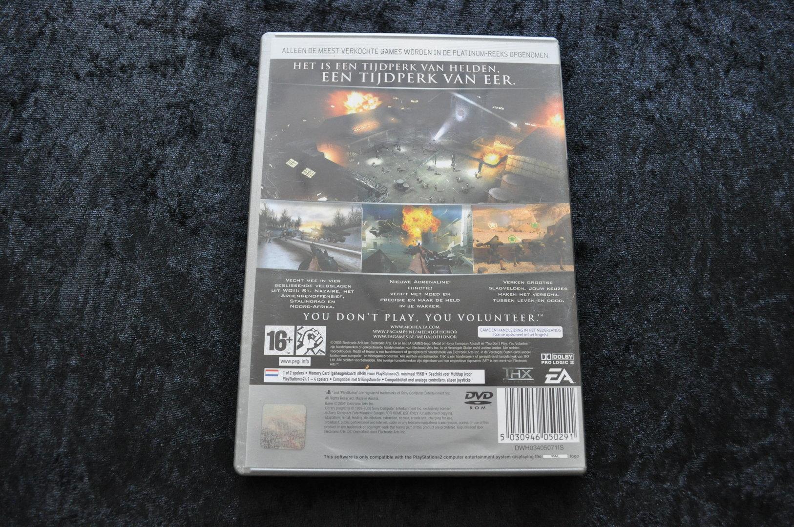 Medal of Honor European Assault Platinum Playstation 2 PS2