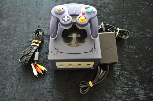 Nintendo Gamecube Console Paars Inclusief Controller