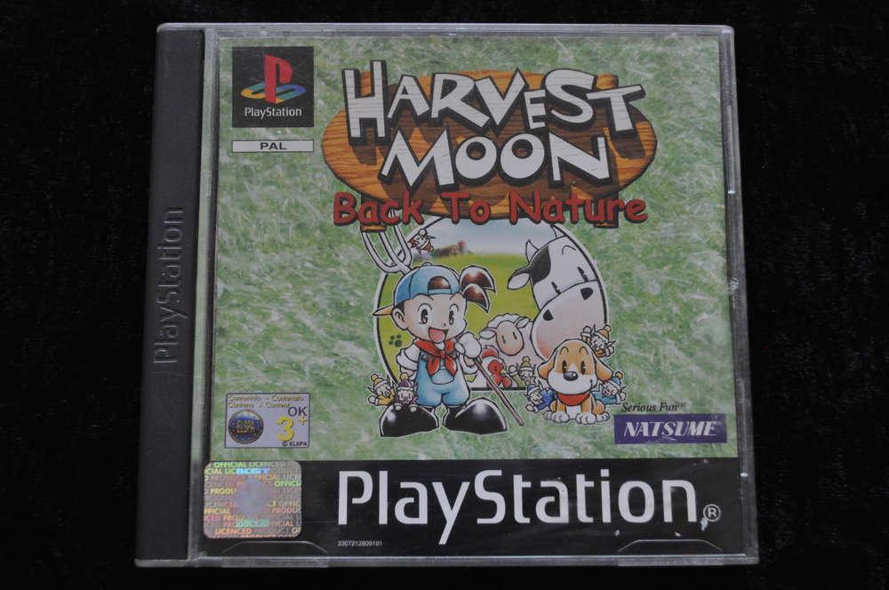 Harvest Moon Back To Nature Playstation 1 PS1 - Retrogameking com