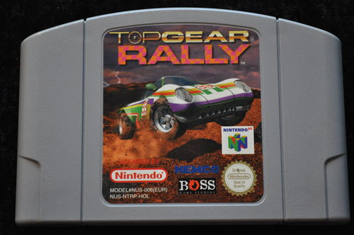 Top Gear Rally Nintendo 64 N64