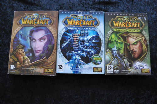 World Of Warcraft 3 Pack PC Games