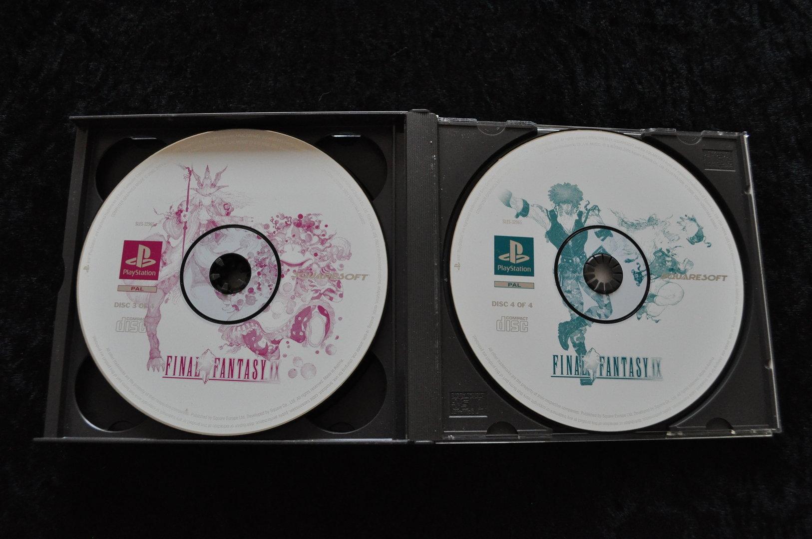 Final Fantasy 9 No Manual Playstation 1 PS1 - Retrogameking