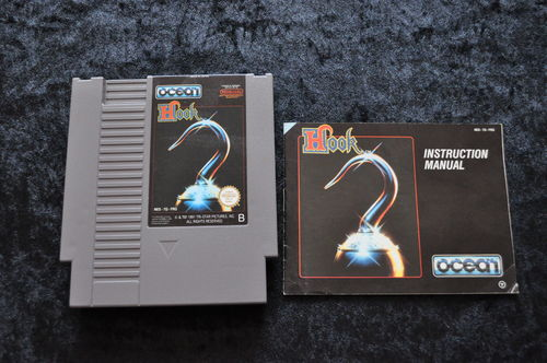 Hook Met Manual Nintendo NES