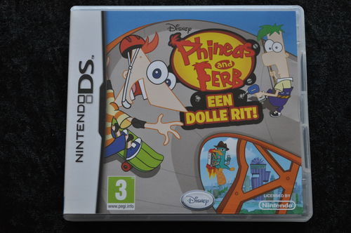 Disney Phineas and Ferb Een Dolle Rit Nintendo DS