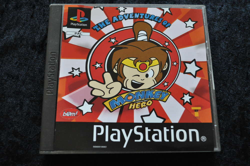 Monkey Hero No Manual Playstation 1 PS1
